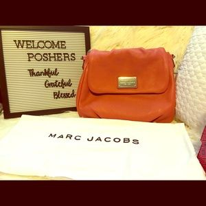 NWT Marc Jacobs Classic Leather Shoulder Bag